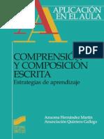 A. Hernández Martín - Comprensión y composición escrita. Estrategias de aprendizaje - Ed Sintesis.pdf