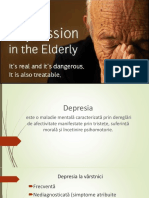 Depresia vârstnici