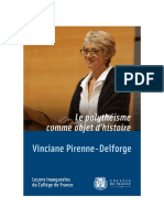 PIRENNE-DELFORGE, V. - Le polythéisme grex comme objet d'histoire