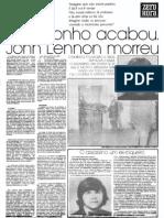 Morte de John Lennon