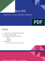 Live de Python #29