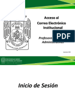Inicie Sesion