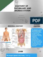 Kelompok 3 ANATOMY OF HEPATOBILIARY AND PANCREAS SYSTEM