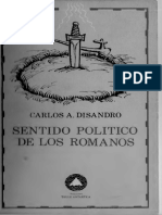Disandro Carlos - Sentido politico de los Romanos.pdf