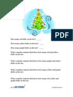 Grade1-2   Math   Christmas Lights