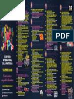 Programación Feria de la Pirotecnia Tultepec 2020