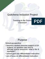 Quilchena Inclusion
