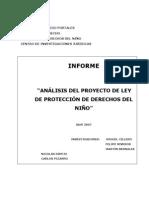 CILLERO Et Al Informe UDP Proyecto Ley Proteccion Derechos 2007