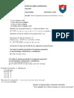 Cuestionario deL+¦gica matem+ítica para examen I