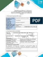 Guía de actividades y rúbrica de evaluación - Tarea 2 - Elaborar mapa mental.docx