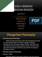 K8 PANCASILA SEBAGAI KEPRIBADIAN BANGSA