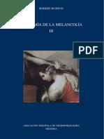 Anatomía de la melancolía - TOMO III