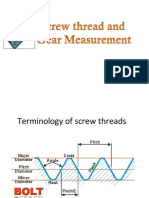screw thread measurements