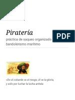 Piratería y frases
