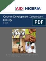 USAID Nigeria_CDCS_2015-2020