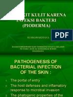 Penyakit Kulit Karena Infeksi Bakteri