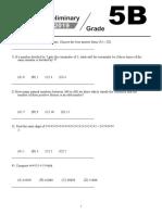 2019 WMI Grade 5 Questions Part 2-英