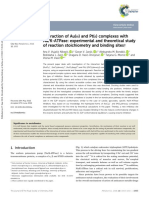 Au(III) and Pt(II) complexes with