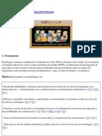 Interpeques. Espacio web educativo para la Educación Primaria.