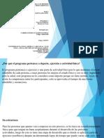FUNDAMENTOS DE LA ACTIVIDAD FISICA Y EL DEPORTE