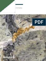 Amara Mining plc 13 Annual Report