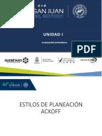 4 ESTILOS DE PLANEACIÓN ACKOFF - copia