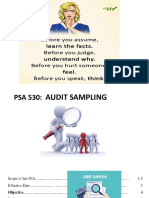 AAI 2 Part 12 PSA 530-Audit Sampling