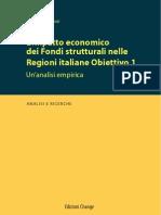 I Fondi strutturali nelle regioni italiane Obiettivo 1