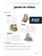 CONJUGACION DE VERBOS