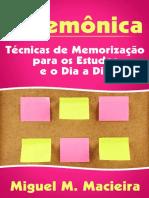 Mnemonica_ Tecnicas de Memoriza - Miguel M. Macieira_220120185030