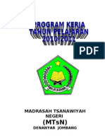 Rencana Program Kerja Madrasah Jangka Pendek