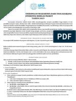Leaflet SPMB Pascasarjana UNS 2019