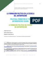 LA FORMACION POLITICA EN LA ESCUELA ANTROPOCENO_REDIPE