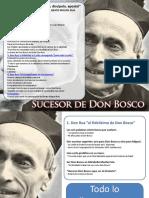Sucesor de Don Bosco