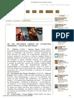 OS 100 Melhores Livros da Literatura Universal