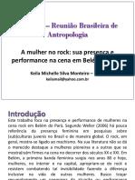 31ª RBA – Reunião Brasileira de Antropologia