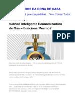Válvula Inteligente Economizadora de Gás - Funciona Mesmo?
