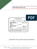 PRE-114-03 PROCEDIMIENTO PARA LANZAMIENTO Y RECIBO DE RASPATUBOS