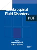 Cerebrospinal Fluid Disorders-CRC Press (2009)