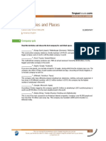 Companies and places (American English)