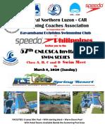 57th Cnlcsca Swim Series