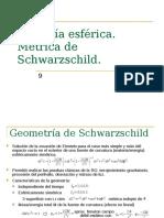 metrica de schwarzschild