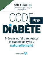 Code Diabete - Prevenir Et Faire Regresser Le Diabete de Type 2 Naturellement.