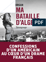 Ma Bataille d'Alger (TEMOIGNAGE) (French Edition) - Morgan Ted