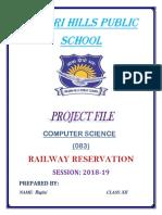railway project.docx