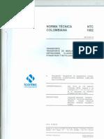 NTC ISO 1692-2013