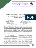 Customer Clustering Based on Customer Lifetime Value