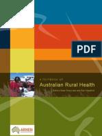 A Text Book of Australian Rural Health Arhen April 20081