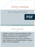 Unit I-Introduction to Banking