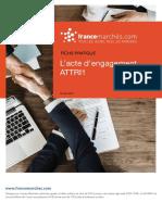 L'Acte d'Engagement ATTRI1